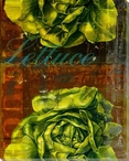 Lettuce Press Proof Wrapped Canvas Giclee Print Wall Art