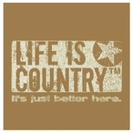 Life is Country Beverage Coasters by Life Is Country, Set of 12