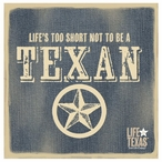 Life's Too Short Beverage Coasters by Life Is Country, Set of 12