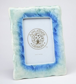 Light Blue and Light Green Picture Frame