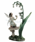 Lily of the Valley Fairy Sculpture by Rachel Anderson