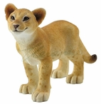 Lion Cub Smiling Sculpture
