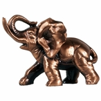 Little Elephant Statue - Copper Finish