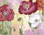 Lively Garden 1 Wrapped Canvas Giclee Print Wall Art