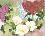 Lively Garden 4 Wrapped Canvas Giclee Print Wall Art