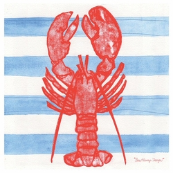 Lobster absorbent beverage coasters by sara henry set of 8 drink coasters thirstystone - Drink coasters absorbent ...