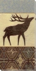 Lodge Elk Wrapped Canvas Giclee Print Wall Art