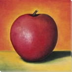 Lonely Apple Wrapped Canvas Giclee Print Wall Art