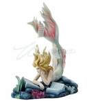 Lost Books Mermaid Sculpture by Tiffany Toland Scott