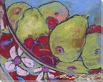 Luscious Pears Wrapped Canvas Giclee Print Wall Art