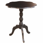 Lynnfield Black Wood Accent Table