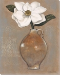 Magnolia Flower Lace I Wrapped Canvas Giclee Print Wall Art