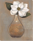 Magnolia Flower Lace II Wrapped Canvas Giclee Print Wall Art