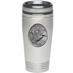 Mallard Duck Stainless Steel Travel Mug with Pewter Accent