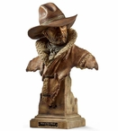 Man of His Word Cowboy Hand Painted Sculpture