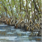 Mangroves I Wrapped Canvas Giclee Print Wall Art