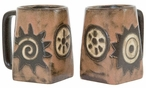 Mara Stoneware Square Mug 12oz - Native Symbols