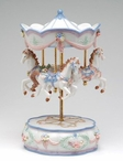 Merry-Go-Round Musical Music Box Sculpture