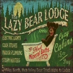 Metal Cabin & Lodge Signs