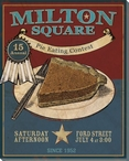 Milton Square Wrapped Canvas Giclee Print Wall Art