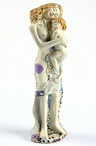 Miniature Mother and Child Statue by Gustav Klimt