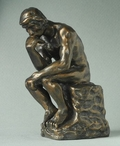 Miniature The Thinker Statue by Auguste Rodin
