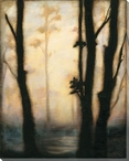 Misty Forest I Wrapped Canvas Giclee Print Wall Art