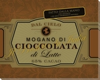 Mogano di Cioccolata Wrapped Canvas Giclee Print Wall Art