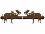 Moose Metal Curtain Rod Holders