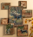 Moose Wall Collage Wall Art