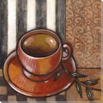 Morning Tea I Wrapped Canvas Giclee Print Wall Art