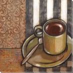 Morning Tea II Wrapped Canvas Giclee Print Wall Art