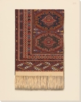 Moroccan Rug 1 Wrapped Canvas Giclee Print Wall Art