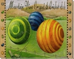 Mountain View Croquet & Cricket Club Wrapped Canvas Giclee Print