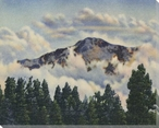 Mountain View Wrapped Canvas Giclee Print Wall Art