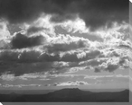 Mountains & Clouds I Wrapped Canvas Giclee Print Wall Art