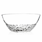 Mouth Blown Clear Crystal Bowl by Mats Jonasson