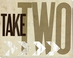"""Movies """"Take Two"""" Wrapped Canvas Giclee Print Wall Art"""