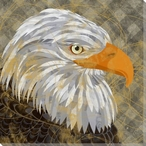 Nature Grouping Eagle Bird Wrapped Canvas Giclee Print Wall Art