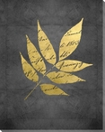 Natures Discourse Leaf II Wrapped Canvas Giclee Art Print Wall Art