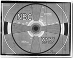 NBC TV Test Pattern Wrapped Canvas Giclee Print Wall Art