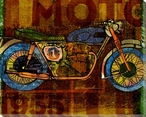 Need Motor Motorcycle Wrapped Canvas Giclee Print Wall Art