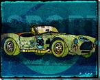 Need Sport Sports Car Wrapped Canvas Giclee Print Wall Art
