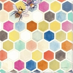 New Digs I Bees Wrapped Canvas Giclee Print Wall Art