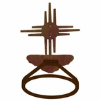 New Mexico Sun Metal Bath Towel Ring