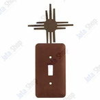 New Mexico Sun Single Toggle Metal Switch Plate Cover