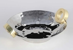 Nickel Gold Ring Centerpieces, Set of 2