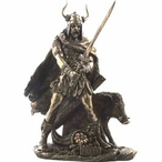Norse God Mythology Sculptures