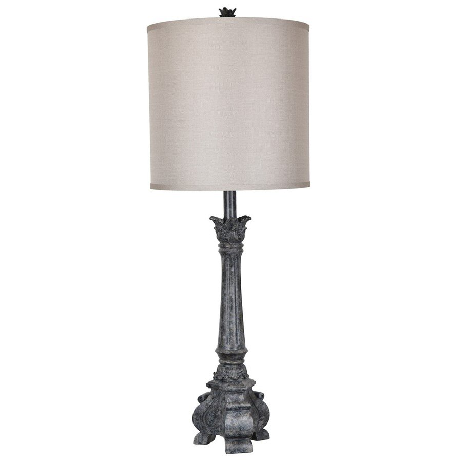 Noura resin table lamp with linen shade lighting noura resin table lamp with linen shade aloadofball Gallery