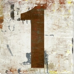 Number Key 1 Wrapped Canvas Giclee Print Wall Art